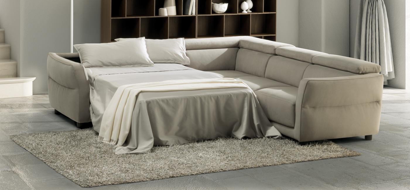 现代设计的沙发床