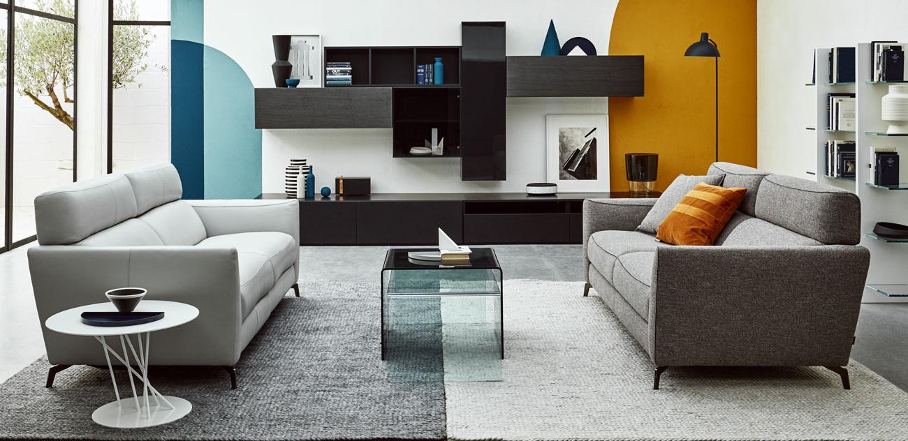 墙体柜系统与书架设计