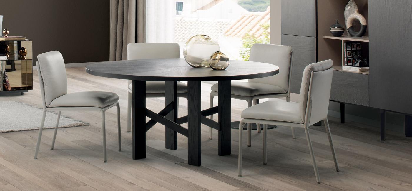 现代设计的餐桌