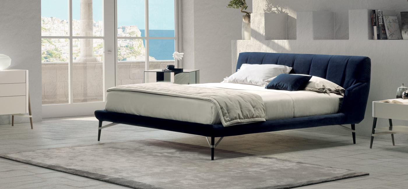现代设计的床